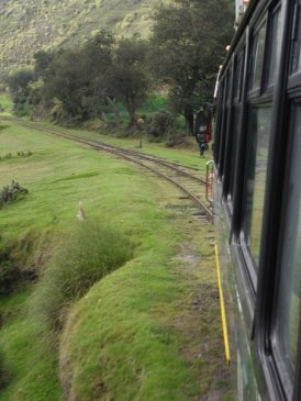 Devils Nose train Ecuador reis